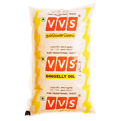 VVS Classic Chekku Oil (Cold pressed traditional nallennai, gingelly oil)