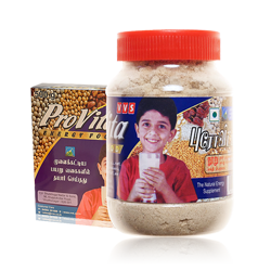 VVS Provita Organic Sattu Maavu (Sprouted Beans and Grains)