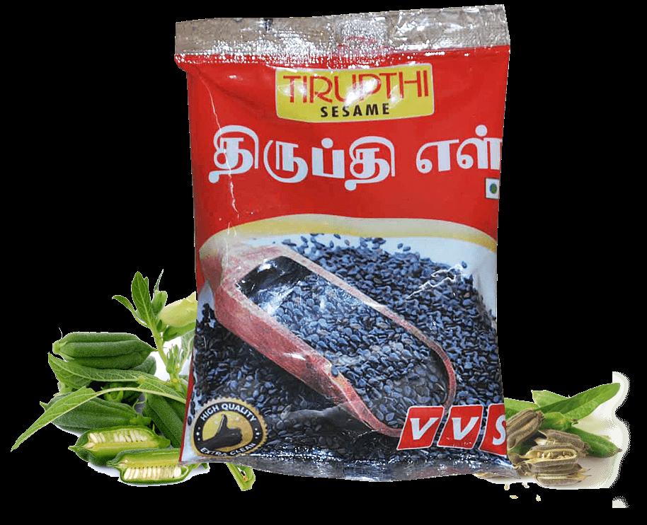 VVS Tirupthi Sesame Seeds (White and black sesame seeds, ell, organic sesame seeds, cold pressed sesame oil, Nallennai, Gingelly oil, Til oil)