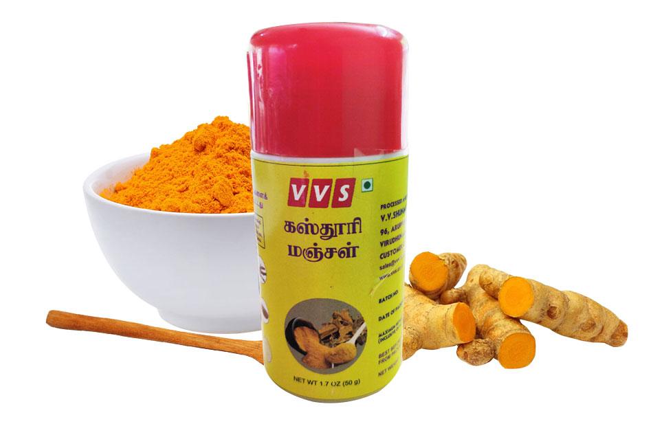 VVS Tirupthi Kasthuri Manjal (Pure Organic Turmeric Powder)